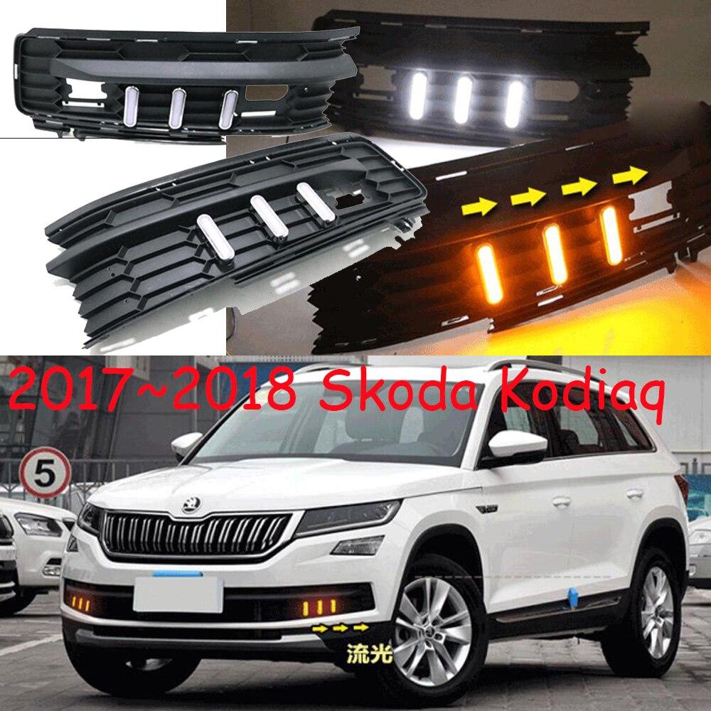 LED,2017~2018 Kodiaq day Light,car accessories,Kodiaq fog lamp,helmet,Kodiaq head light,octavia,superb,rapid,Kodiaq tail light