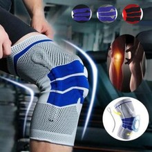 Knee Brace Support Breathable Knee Brace Compression knee Support Sleeve Injury Recovery sport safety sport protection gear one pair 3 colors breathable thin section nylon knee brace knee pad prevent sleeve arthritis injury leggings elbow sleeve