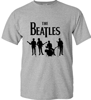 New The Beatles Rock And Roll Funny T Shirt Mens The Guitar HipHop Short Sleeve T