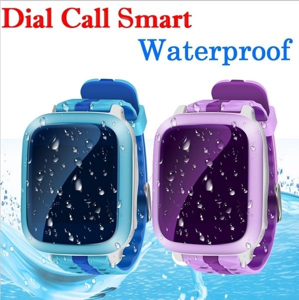 Gps tracker smart watch a prueba de agua ip67 para el cabrito anti-perdida smartwatch sos gps/gsm/sos niños seguros de pulsera para ios android