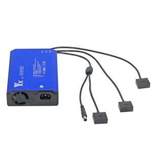 Image 2 - Cargador inteligente 4 en 1 Batería 3 uds y carga de control remoto para DJI Inspire 1 pro Drone Accesorios