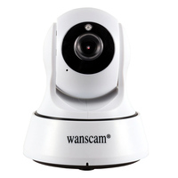 720P HD Wireless Wifi Camera IR CUT Indoor Surveillance Security IP Camera For Home Protection Two