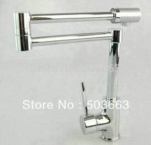 Фирменная Новинка Concept Поворотный Кухня Раковина кран смесителя Chrome кран YS-8528C смеситель кран