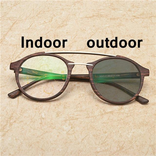 43f0ad43f3277 2019 diseño de marca Multifocal Progresiva gafas de sol fotocromáticos gafas  de lectura hombres grano de