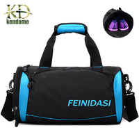 L M Waterproof Sports Handbag Women Men Outdoor Shoulder Bag Large Capacity Training Camping Female Yoga
