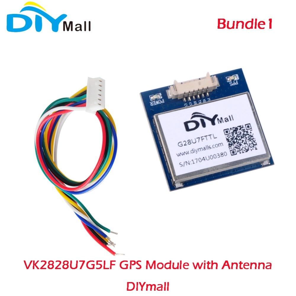 DIYmall VK2828U7G5LF GPS Module Gmouse With Antenna TTL 1-10Hz With Flash Flight Control Module  FZ0517/FZ0517C