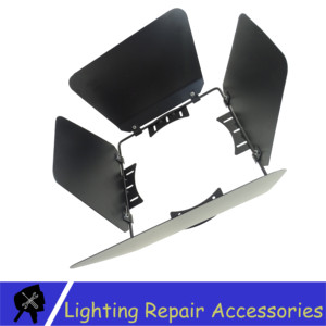 Image 3 - Puerta de Granero, iluminación de aluminio para escenario, puertas de granero para 100W 200W COB luz Par LED