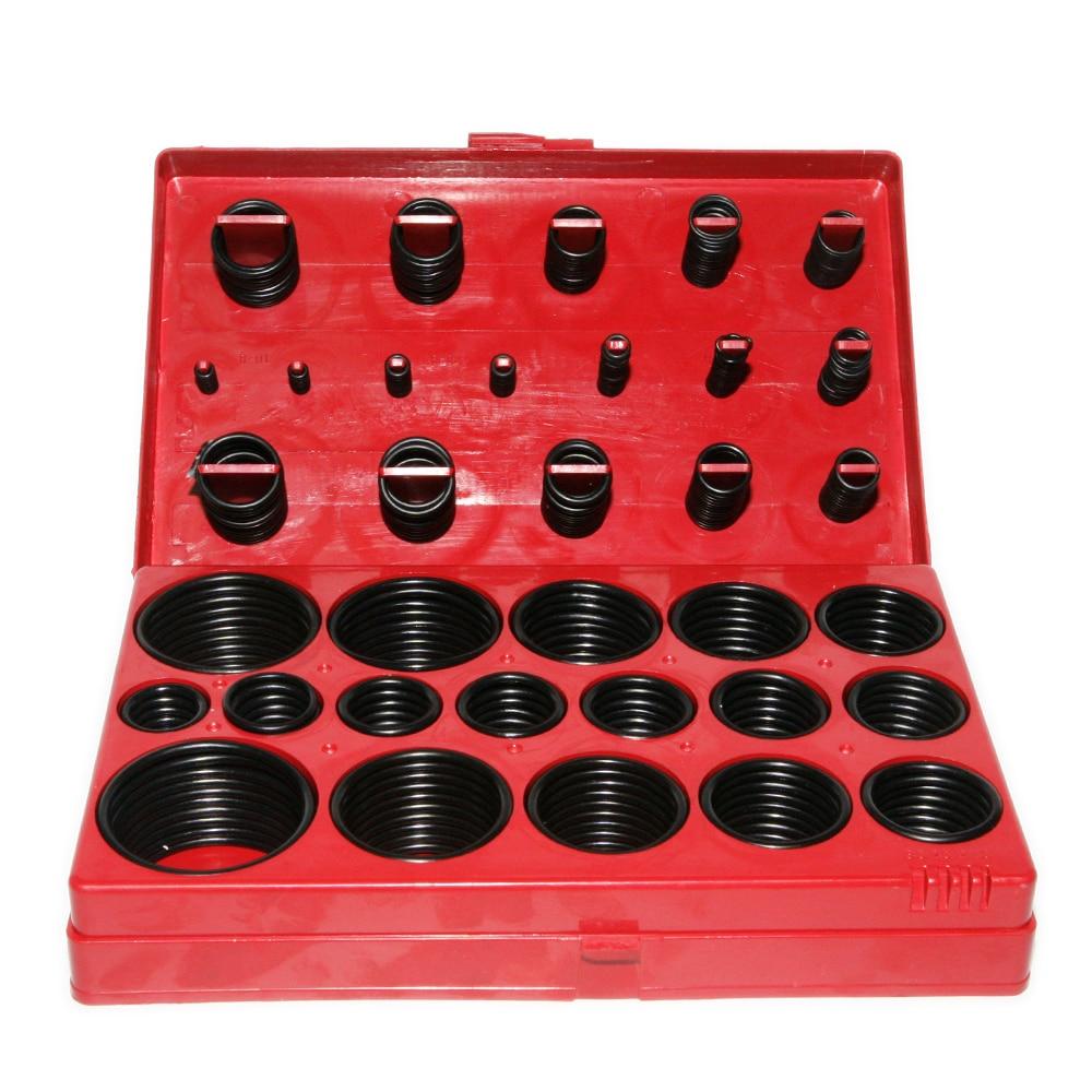 Kit 419Pcs Ring Rubber Assortment Car O Plumbing Set Seal Universal O Tool Rings Assorted Professional Garage Transmission