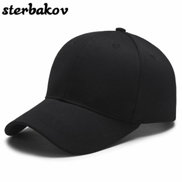 473784ec96d sterbakov Unisex Embroidery Youth Letter Baseball Cap Men s   Women s Snapback  Hip Hop Flat Black Hat
