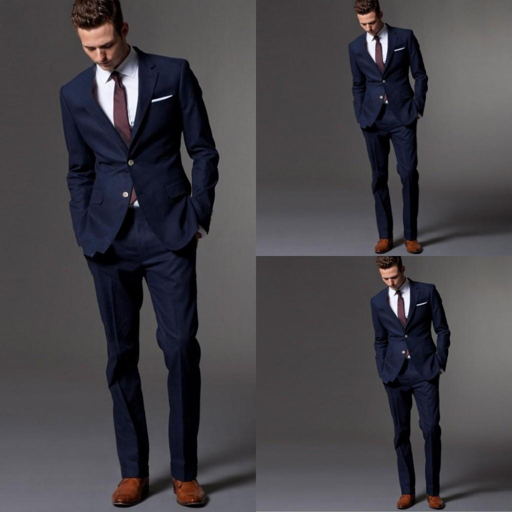 Free Shiping Western Style Men Business Suits Brand Boss