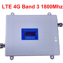new 4G amplier BAND3 FDD LTE 4G booster 30dbm 65dbi LCD display DCS 1800mhz mobi