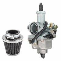 Motorcycle Carburetor Intake 26mm Carb Air Filter 38mm For Honda CB125 CB125S CG125 Mount 38mm