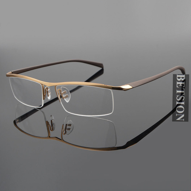 49d4539ccb61 TR90 Flexible Reading Glasses Half Rimless +50 +75 +100 +125 +150 +175 +200  +250 +3 +350 +375 +400 +425 +450 +475 Top Quality