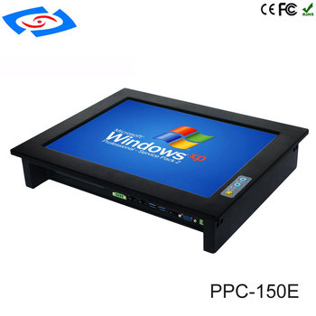 """High Quality 15"""" Embedded Mini Fanless Industrial Panel PC With RAM 2G/4G/8G/16G/32G SSD 32G/64G/128G/256G All In One Tablet PC"""