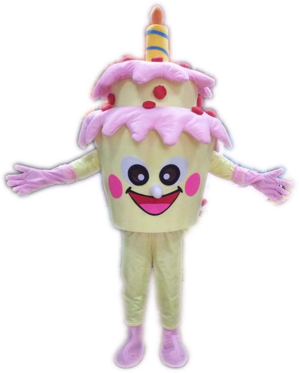 2018 New Adult Size Birthday Cake Mascot Costume Cake