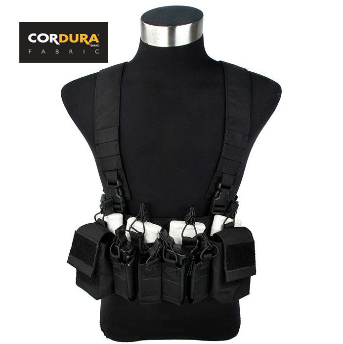 Cordura 500D Tactical D3 CRX Chest Rig M4 556 Military Combat Gear Vest+Free shipping(STG050970)
