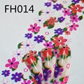 Nuevo Papel de 4 cm * 40 cm Nail Hoja Transferencia Nail Art Calcomanías de Papel Adhesivo de Uñas Wraps DIY Uñas belleza Artesanal 5 unids/lote