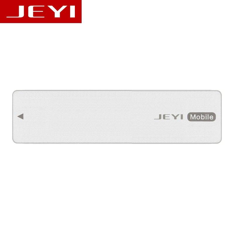 Jeyi i8 type-c3.1 usb3.1 usb3.0 m.2 ngff ssd lecteur mobile VIA VLI716 Soutien TRIM SATA3 6 Gbps UASP Aluminium SSD HDD boîtier