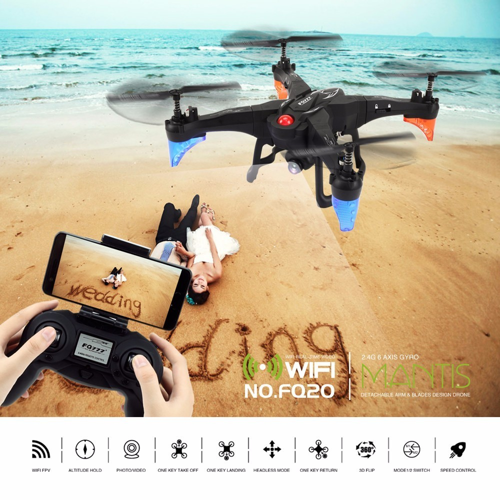 Best Deal 2018 Newest FQ777-FQ20 MATIS DIY Drone with WIFI FPV 4CH 2.4G Birthday Present Gift RC Toy Quadcopter VS JJRC Eachine f04305 sim900 gprs gsm development board kit quad band module for diy rc quadcopter drone fpv