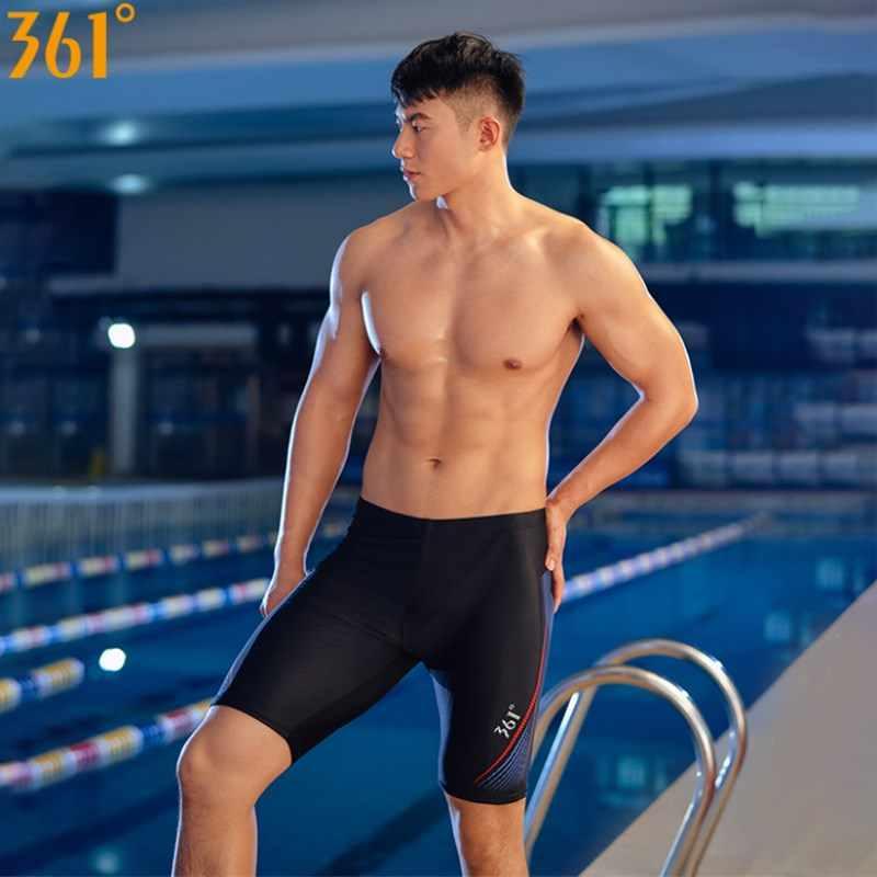 Professional Tight Swim Trunks Swimming Board Shorts Quick drying for Men Boys