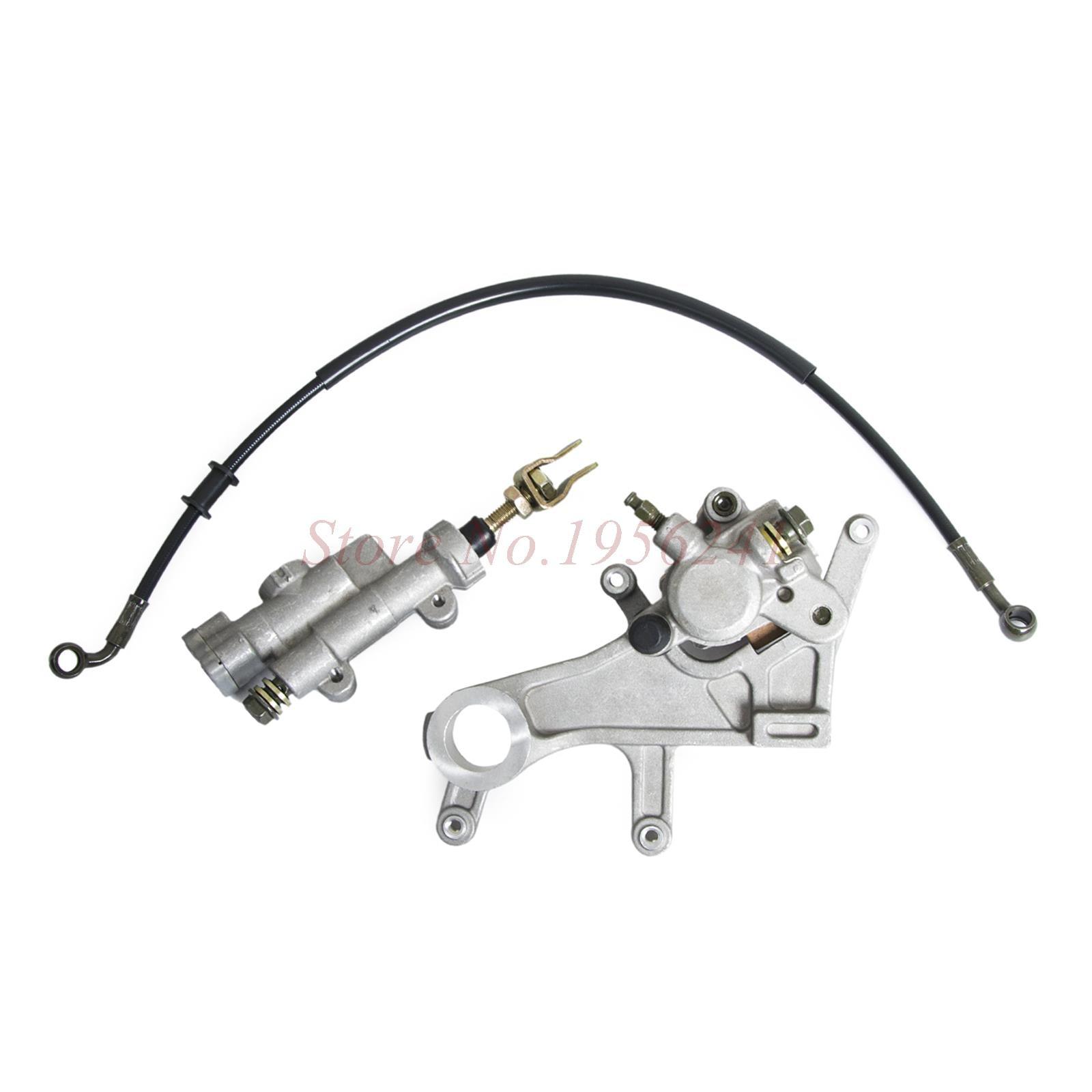 ФОТО Rear Brake Caliper Master Cylinder For Honda CRF450R CRF450X CRF 450R 450X