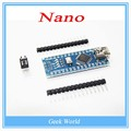5 ШТ. Nano 3.0 контроллер совместимость с nano CH340 USB драйвер БЕЗ КАБЕЛЯ для Arduino NANO V3.0