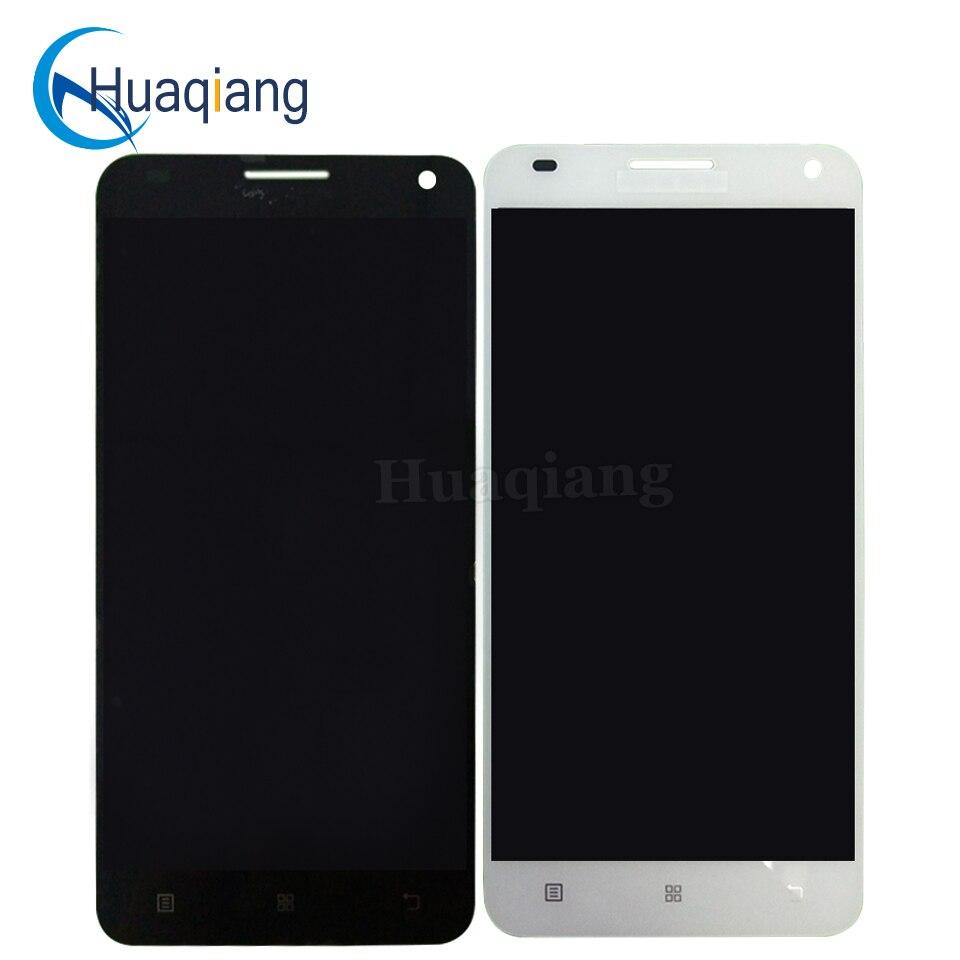 imágenes para Para Lenovo S580 LCD Accesorios Digitales de Pantalla con Panel Táctil de Cristal Digitalizador Asamblea reemplazo Para s580