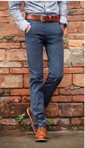 Los nuevos Hombres Slim Fit Casual Traje de Pantalones para hombre de Negocios Vestido Formal pantalones Rectos Pantalones Grises, negro, verde Envío Gratis