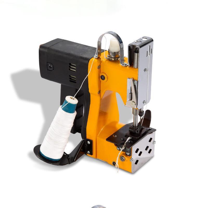Máquina de Costura Bolsa de Arroz Perto para Selar Bolsas de Papel Bolsas Elétricos Portáteis Mais Kraft Papel-plástico Composto Máquina Seladora Mod. 330457