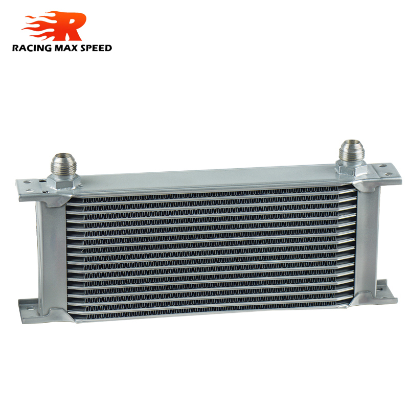 Image 2 - wholesale universal racing car row 16 excavator hydraulic oil cooler-in Oil Coolers from Automobiles & Motorcycles