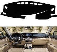 Подходит для Lexus ES350 2013-2017 лет приборной панели автомобиля Чехлы для мангала dashmats Pad Авто Тенты Подушки Ковры протектор