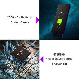 """Image 5 - LEAGOO Z10 スマートフォン 5.0 """"フルスクリーン 1 ギガバイトの RAM 8 ギガバイト ROM クアッドコア MT6580M 3 グラムネットワーク 5MP カメラ携帯電話"""