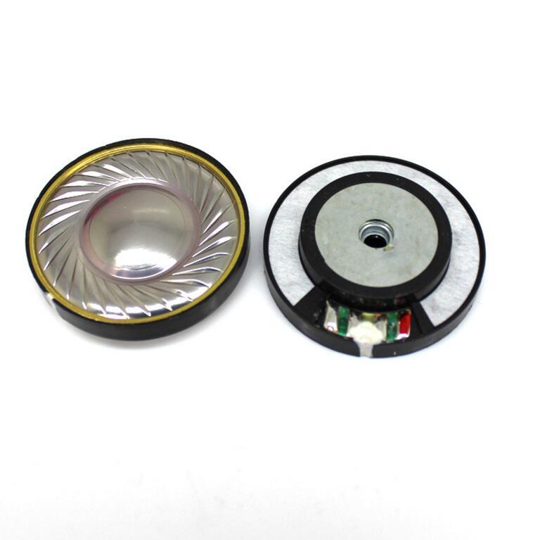 1Pair 40mm speaker unit HIFI noise canceling headphones unit 16ohm