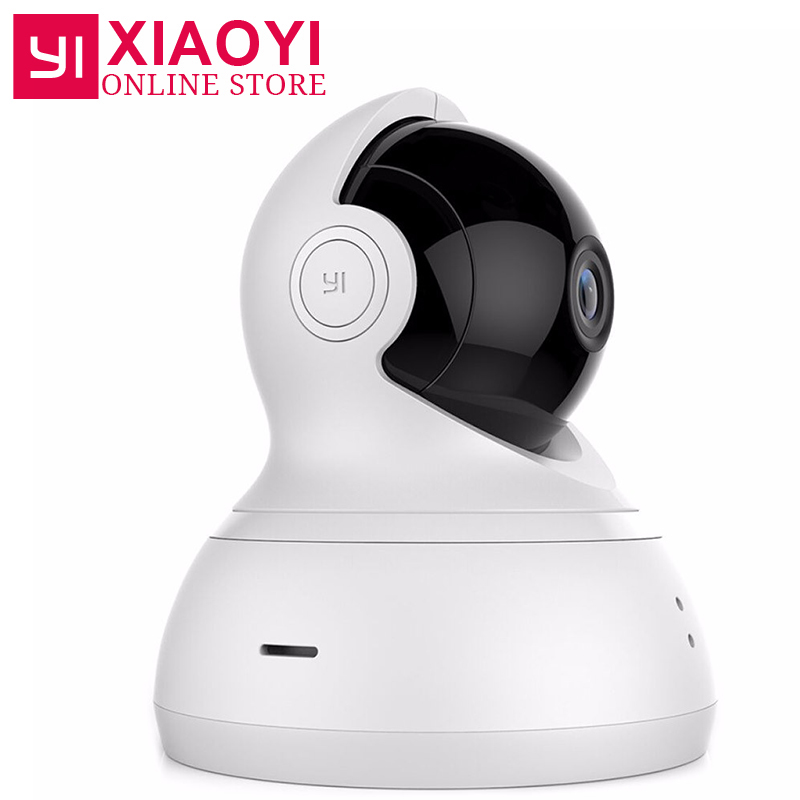 [International Edition]YI Dome Camera 720P Pan/Tilt/Zoom Wireless IP Home Camera Xiaomi YI Infrared Night Vision Baby Monitor нивелир ada cube 2 360 home edition a00448