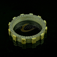 8 Pcs Motorcycle Engine Parts Clutch Friction Plates Disc Fit For HONDA CR250R 90 07 CRF450R