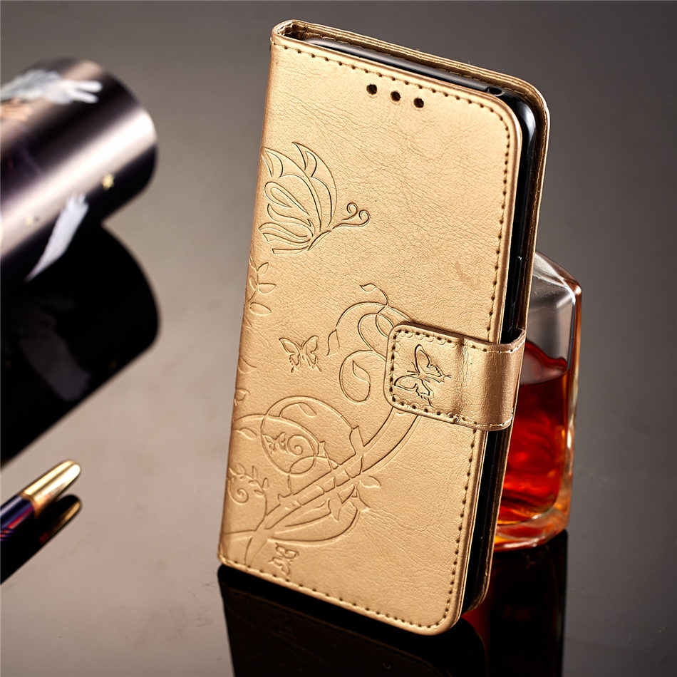 Case For Samsung Galaxy Note 9 8 S9 S8 A8 Plus 2018 S7 S6 Edge A3 A5 j3 j5 j7 2017 2016 2015 Luxury Retro Butterfly Cover E03Z