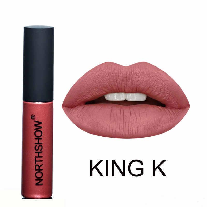 מותג איפור עירום מט קטיפה שפתון נוזלי עמיד למים שפתיים הגהות מט שפתון לאורך זמן סקסי צבעים גלוס שפתיים ערכת