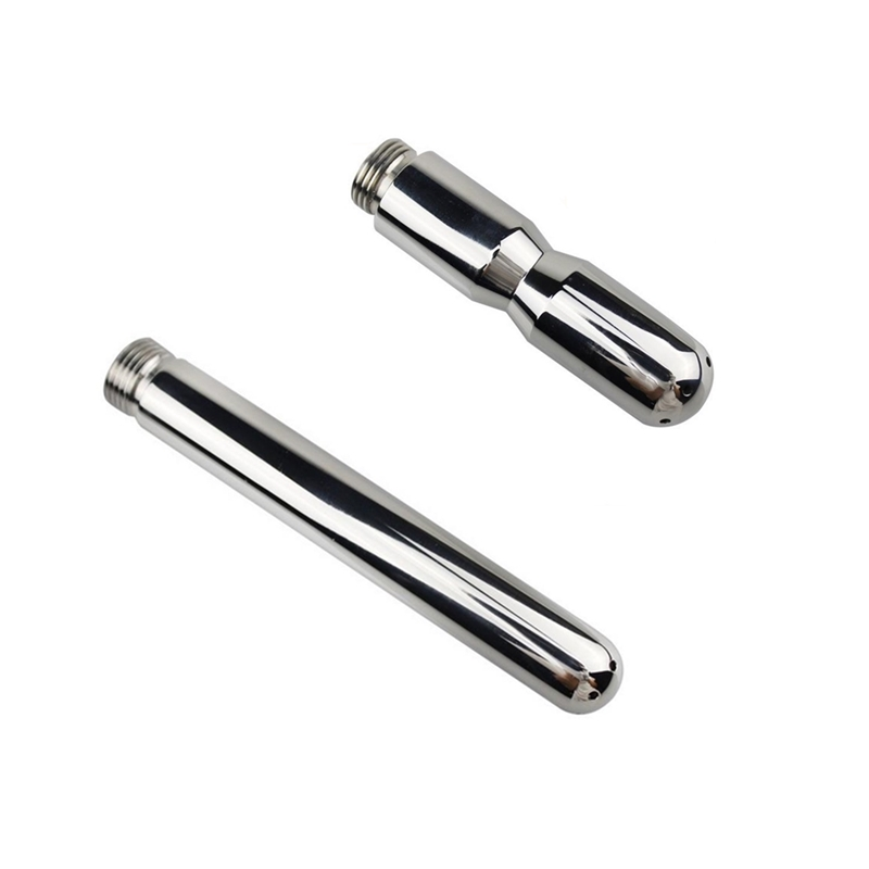 2pcs/set 304 Stainless Steel Bidet Faucets Nozzle Vaginal Anal Suppository Enema Flush Shower Head Bidet Sprayer Tap2pcs/set 304 Stainless Steel Bidet Faucets Nozzle Vaginal Anal Suppository Enema Flush Shower Head Bidet Sprayer Tap