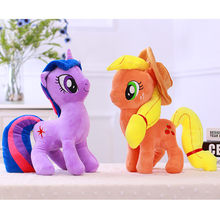 40cm Toys for Children Anime Pony Plush Toy Rainbow Unicorn Plush Kawaii Licorne Friendship Is Magic Unicornio Soft Stuffed Toys(China)