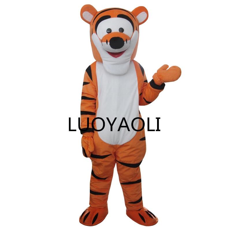 Transportim falas i Kostumeve të Ngjyrave me tigër me tigër me - Kostumet