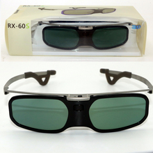 Active Shutter Rechargeable 3D glasses +Myopia Clip For Samsung Sony W807C LG 3D Bluetooth TV & EPSON projector TW5200/TW5300