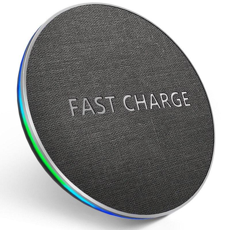 GETIHU 10 W Qi Drahtlose Ladegerät Schnell Für iPhone 8 Plus X XS MAX XR Wireless Charging Pad Für Samsung s8 Hinweis 8 Wirless für Telefon
