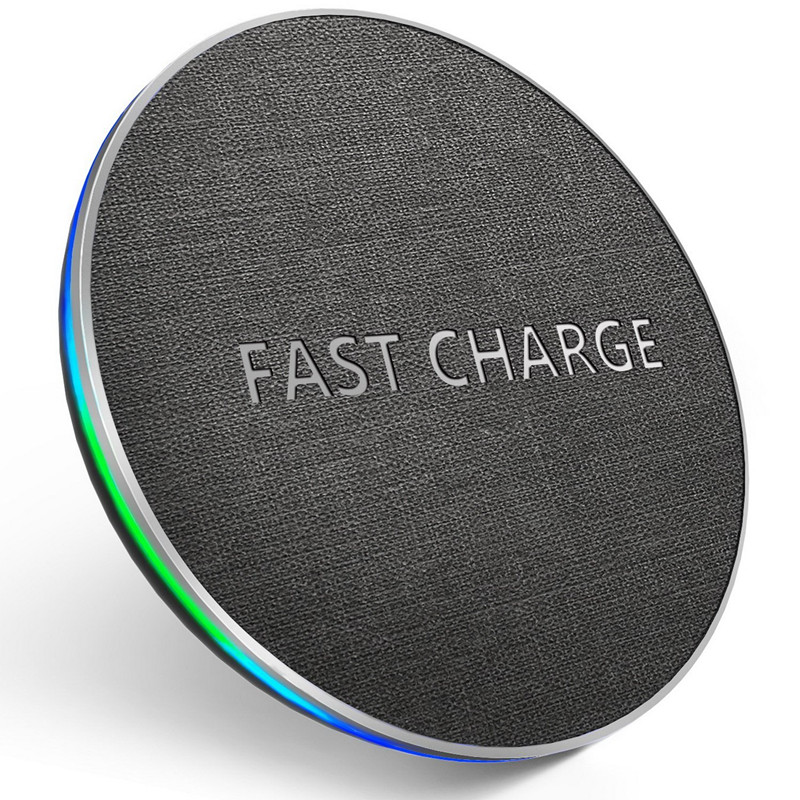 GETIHU 10W Fast Qi Wireless Charger For iPhone 8 Plus X XS MAX XR Wireless Charging Pad For Samsung S8 Note 8 Wirless for Phone-in Mobile Phone Chargers from Cellphones & Telecommunications