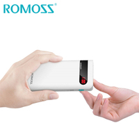 ROMOSS Sense4P Power Bank 10000mAh 18650 Powerbank Backup Power Charger External Phone Battery Pack for iPhone 8/8Plus/X Samsung