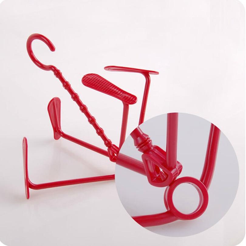 5 Unids / lote Multifunción creativo zapatero bastidores de secado - Mueble - foto 4