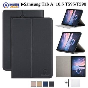 Ходунки чехол для samsung Galaxy Tab 10,5 ''Tablet T590 T595 T597 2018 Tab A SM-T590 SM-T595 SM-T597 принципиально чехол + подарки