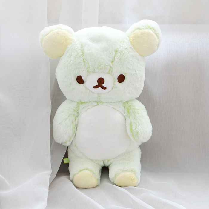 Cute Rilakkuma Relax Bear Stuffed Plush Toy Dolls Girl Birthday Gift Limited Collection