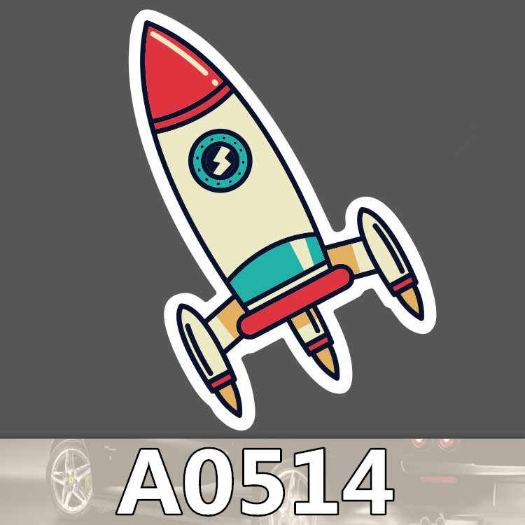 A0074 van off adesivo de parede sinal do logotipo colorido mala laptop guitarra skate bagagem bicicleta brinquedo pvc adesivos à prova d' água