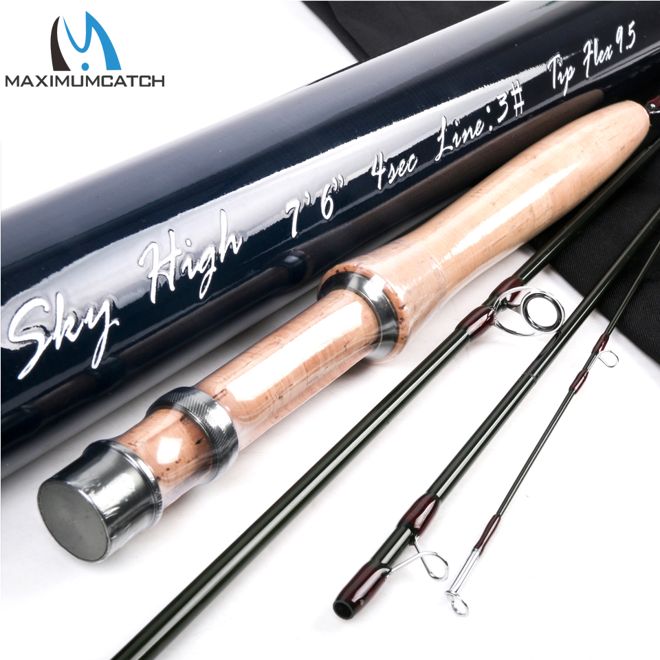 Maximumcatch IM12(40+46T) Carbon Fly Fishing Rod With Aluminium Tube Fly Rod
