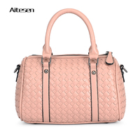 Vintage Knitting Luxury Louis Handbags Women Bags Famous Designer Brand Bags Women Pu Leather Handbags Neverfull